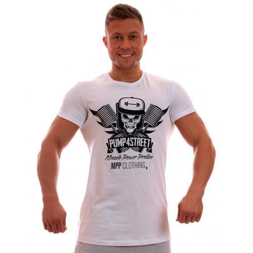 MPP marškinėliai Pump 4 Street (baltos spalvos)