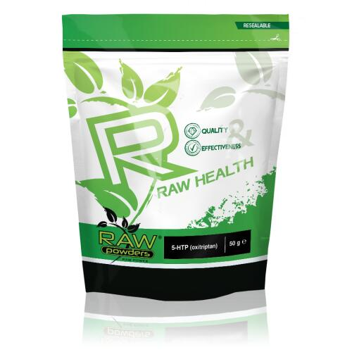 Raw Powders 5-HTP (5-hidroksitriptofanas)