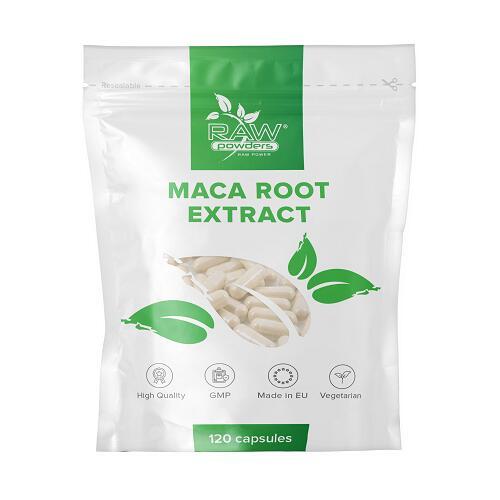 Raw Powders Maca Root Extract 5000 mg 120 kaps.