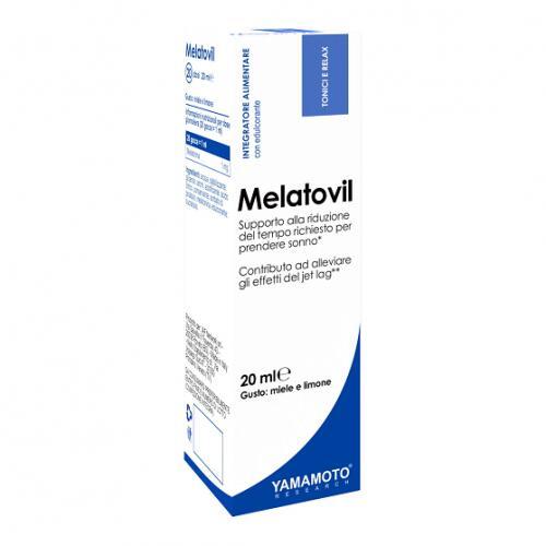 Yamamato Melatovil (skystas melatoninas) 20ml