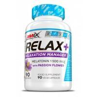 Amix Performance Relax+ (melatoninas) 90 kaps.