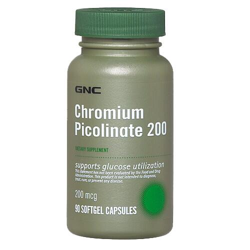 GNC Chromium Picolinate 200 180 tabl.