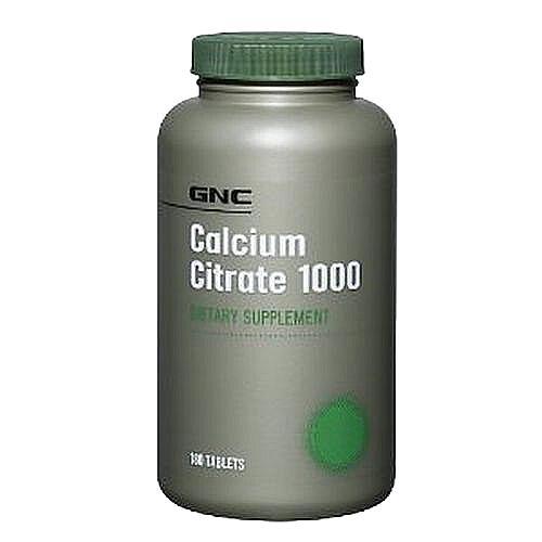 GNC Calcium Citrate 1000 180 tabl.