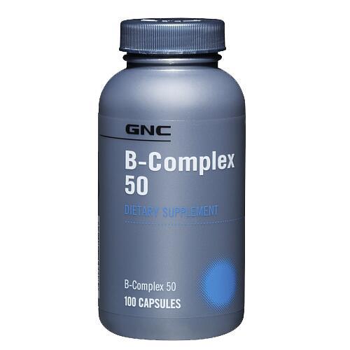 GNC Vitamin B-Complex 50 100 tabl.