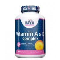 Haya Labs Vitamin A&D Complex 100 kaps.