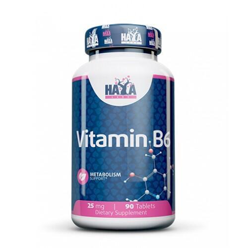 Haya Labs Vitaminas B6 90 tabl.