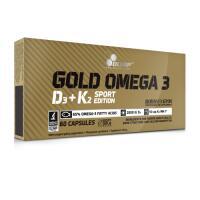 Olimp Nutrition Gold Omega 3 D3+K2 Sport Edition