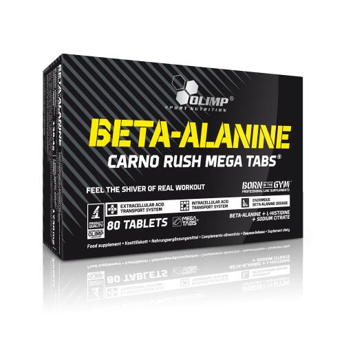 Olimp Beta Alanine Carno Rush 80 tabl.