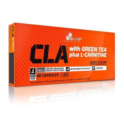 Olimp CLA & Green Tea + L-Carnitine 60 Kaps.