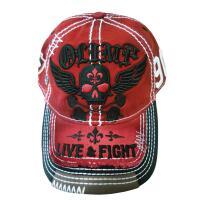 Live and Fight Sinner raudona kepurėlė