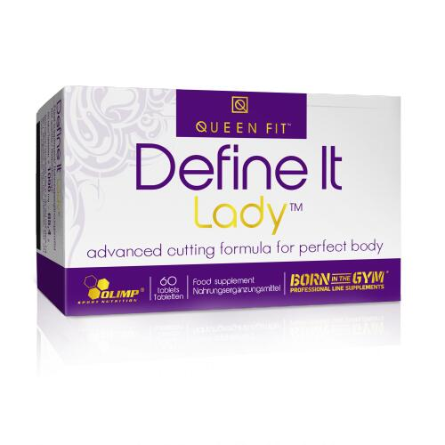 Olimp Queen-Fit Define It Lady 50 tabl.