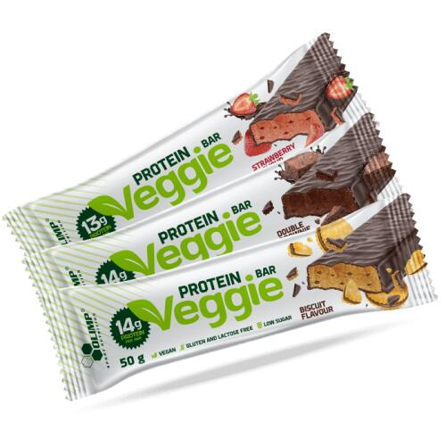Olimp Veggie Protein Bar baltyminis batonėlis 50g