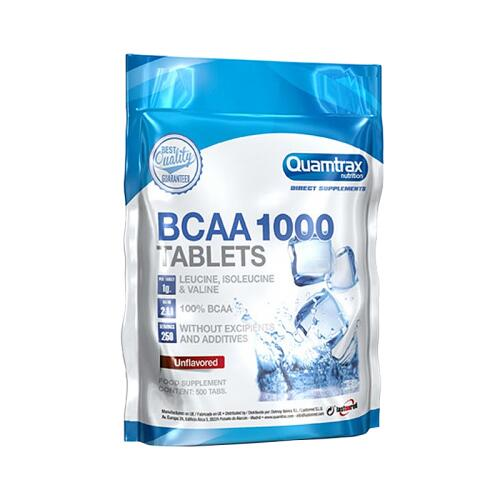Quamtrax Nutrition BCAA 1000 500 tabl.