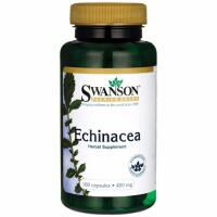 Swanson Echinacea (Ežiuolė) 400 mg 100 kaps.