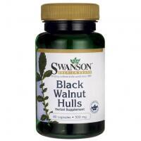 Swanson Black Walnut (juodasis riešutmedis) 60 kaps.