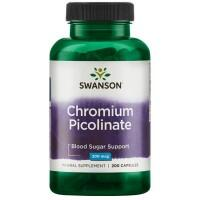 Swanson Chromium Picolinate (chromas) 100 kaps.