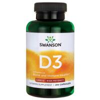 Swanson Vitaminas D3 250 kaps.