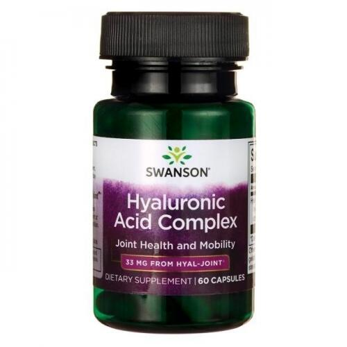 Swanson Hyal - Joint Hyaluronic Acid Complex 60 kaps.