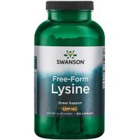 Swanson L-Lysine (L-Lizinas) 100 kaps.