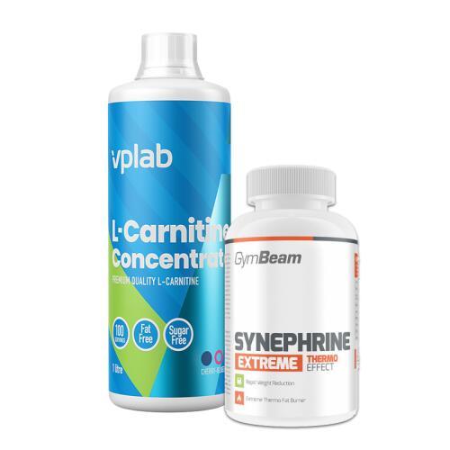 VPLab L-Carnitine Concentrate 1000 ml ir termogenikas dovanų!