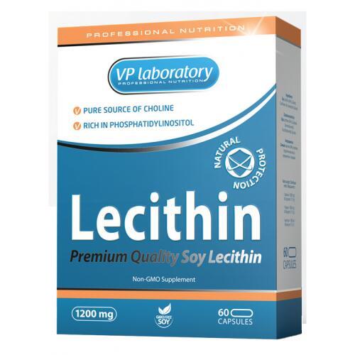 VP laboratory Lecithin (Lecitinas) 60 kaps.