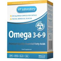 VpLab Omega 3-6-9 60 kaps.