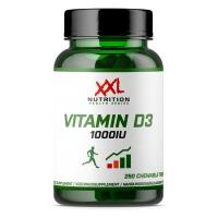 XXL Nutrition Vitaminas D3 1000 arba 3000 IU 250 tabl./60 kaps.