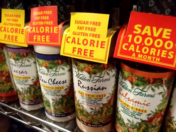 Padazai be kaloriju