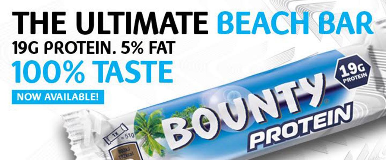 """Vaizdo rezultatas pagal užklausą """"bounty protein bar"""""""